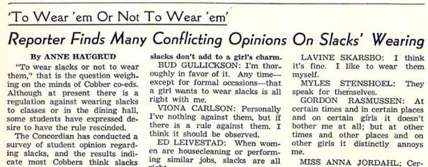 Concordian article, 1942