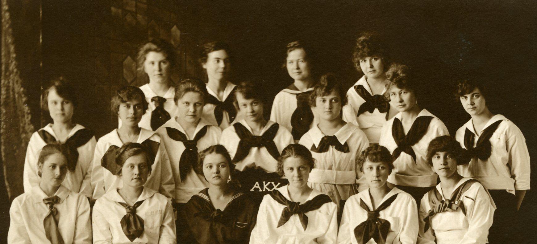 Alpha Kappa Chi, 1917-1918