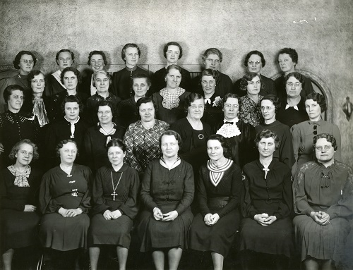 Women's League, 1936
